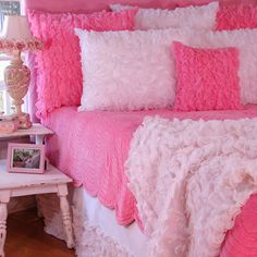 Cotton Candy Bedding : Bedding For Girls at PoshTots// I loved this.. until I went to the website and looked at the price...