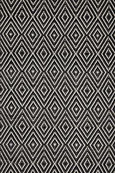 #DashAndAlbert Diamond Black/Ivory Indoor/Outdoor