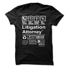 Hot Seller - LITIGATION ATTORNEY T-Shirts, Hoodies (20.99$ ==► Order Here!)