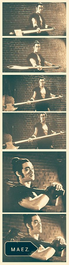 Bruce Lee The blind swordsman axa man golden harvest warrior costume 1971