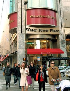 Water Tower Place chicago - shopping!
