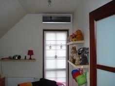 Klimatyzacja w domu. Klimatyzacja LG w pokoju.