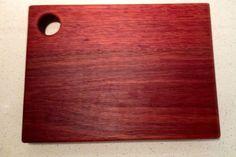 Gorgeous Solid Handmade Jarrah Chopping Board, Cutting Board