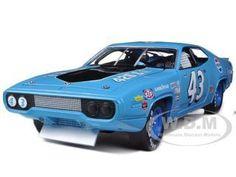 diecastmodelswholesale - 1971 Plymouth Road Runner Richard Petty Blue / Pepsi