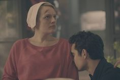 The handmaid's tale, season 1, episode 10, Night. June and Nick.
