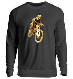 Goldiger Freeride Biker T-Shirt Biker T-shirts, Unisex, Sweatshirts, Long Sleeve, Sleeves, Sweaters, Mens Tops, T Shirt, Fashion