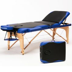 70cm Wide 3 Fold Professional Multi-function Adjusting Salon Chair Massage Table Facial Bed Furniture Spa Tattoo Beauty Table #Affiliate