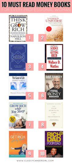 If you need me, I'll be reading!!!  Hello Amazon! http://www.classycareergirl.com/2016/02/money-books/
