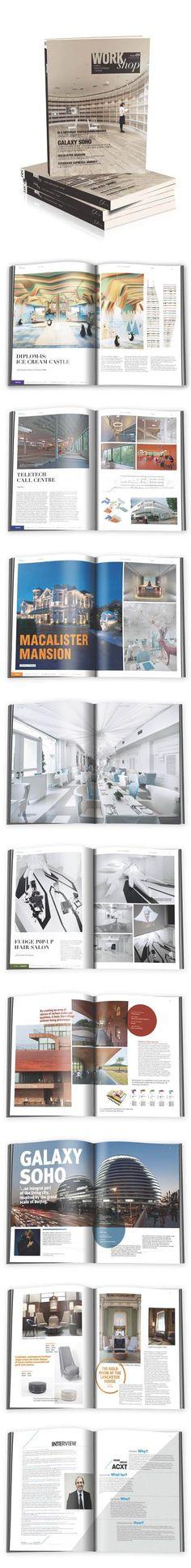 portfolio layout option / workshop vol.08 by Chois Publishing , via Behance