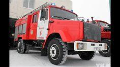 ЗИЛ-433362-АЦ-3,2-40 - пожарная автоцистерна 4х2 (ёмкость 3200 л)