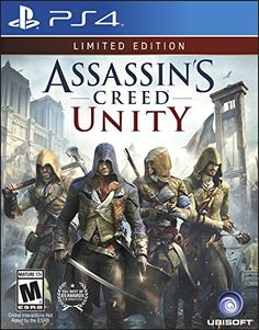 Videojuegos: Limited edition Assassin's Creed Unity - PlayStation 4 Ub... https://www.amazon.com.mx/dp/B00J48MUS4/ref=fastviralvide-20