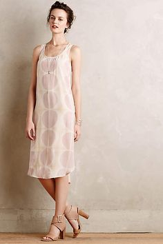 Milieux Silk Dress - anthropologie.com