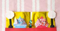  ひな祭りの折り紙【3月】簡単な雛飾りの折り方まとめ!五段並びも手作りできる! Elsa, Origami, Origami Paper, Origami Art