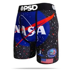 The Staple NASA men's boxer brief featuring the iconic NASA logo. The most comfortable briefs in the galaxy. Androgynous Fashion, Tomboy Fashion, Mens Fashion, Boxers Underwear, Men's Boxer Briefs, Cool Keychains, Boys Boxers, Mens Clothing Styles, Men Casual