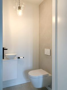 Small Downstairs Toilet, Small Toilet Room, Guest Toilet, Downstairs Bathroom, Modern Bathroom Tile, Small Bathroom, Outdoor Toilet, Outdoor Bathrooms, Small Tiles