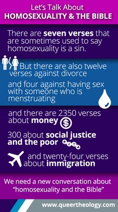 Why We Need a New Conversation about Homosexuality and the Bible