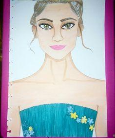 Drawing of kelsea ballerini by Vanessa Keng
