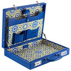 La Madraza Leather Attache Briefcase on AHAlife