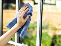 Out of window cleaner? Learn how to have streak free windows when you clean them with vinegar.