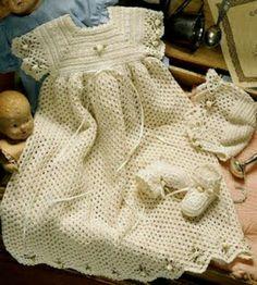 Ropones Tejidos En Crochet Y Ahujas (artesanales) - $ 750.00 en MercadoLibre