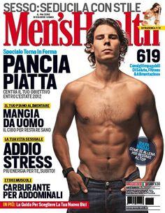 Rafael Nadal on Italy's Men's Health magazine, May 2012.  #tennis