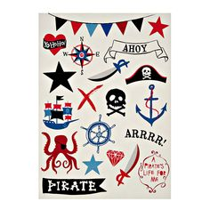 Stand-up Pirate Ship Birthday Card