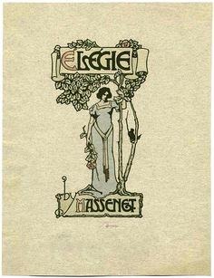 Image Title :  Élégie by Massenet.  Additional Name(s) : Massenet, Jules, 1842-1912 -- Composer