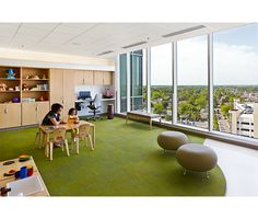 Interiors of Nationwide Children's Hospital by FKP Architects and Ralph Applebaum AssociatesLocated in Columbus, Ohio Commercial Interior Design, Commercial Interiors, Children's Clinic, Hospital Design, Lobbies, Childrens Hospital, Common Area, Health Care, Behance