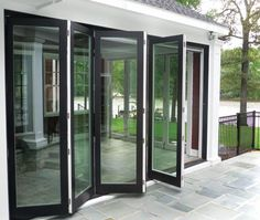 Expansive Folding Doors: Kolbe's folding doors provide a maximum of 8 panels per side to offer up to 45 feet of unobstructed views. These units are designed to provide not only attractive aesthetics, but also ease of operation and superior quality. Folding doors are available in either Ultra or Heritage series.  www.wddcfl.com