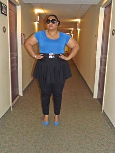FROM THE REZ TO THE CITY: PEPLUM PANTS