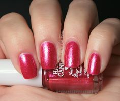 Hard Candy 5 Piece Just Nails Set Holiday 2012 #1 Pink
