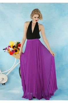 I think this would be a cute bridesmaid idea-pair the skirt with a flowy neutral colored top.