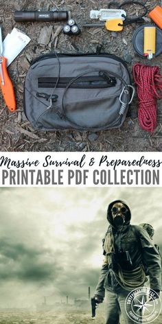 Massive Survival & Preparedness Printable PDF Collection - Printout a this massive collection of PDF files as reference for a possible SHTF scenario, and keeping it in a nice safe spot. A single printed survival manual may save you or a loved one at some future date.