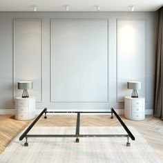 Master Bedroom Design, Home Bedroom, Master Suite, Bedroom Wall Designs, Wall Molding Designs, Accent Wall Designs, Home Design, Home Interior Design, Wainscoting Bedroom