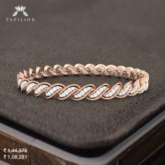 Glamour & Luxury of Lifestyle ~ Areola Diamond Bangle. Diamond Bracelets, Gold Bangles, Diamond Jewelry, Bangle Bracelets, Silver Bracelets, Gold Earrings Designs, Silver Diamonds, Diamond Cuts, Glamour