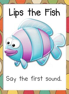 Lips the Fish Reading Strategy