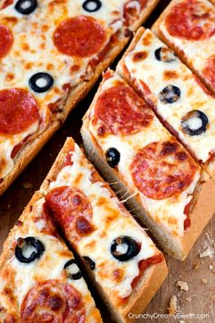 Easy Pizza Bread - perfect solution for those days when you are craving pizza but don't want the fuss!