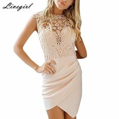 Sexy See Through hollow out Crochet Lace Asymmetric Irregular Ruched Casual Party Club Beach Mini Short Dress