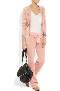Relaxed Style -   JUICY COUTURE  Velour