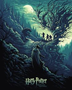"kogaionon: "" Harry Potter and the Shadow of the Werewolf by Dan Mumford / Behance / Facebook / Twitter / Instagram / Store 18"" x 24"" officially licensed lithograph print on 100 lb satin-finish paper. Available here. """