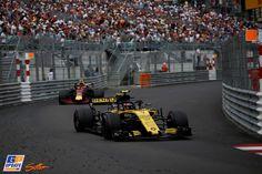 Carlos Sainz Jr., Max Verstappen, Renault, Red Bull, Formule 1 Grand Prix van Monaco 2018, Formule 1
