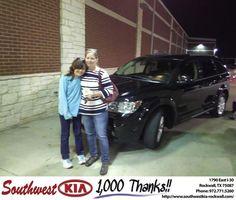 https://flic.kr/p/E75Gwt | Congratulations Rhonda on your #Dodge #Journey from Gary Guyette Jr at Southwest KIA Rockwall! | deliverymaxx.com/DealerReviews.aspx?DealerCode=TYEE