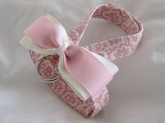 Small dog harness velcro close Grace 2 by ParkAvenueDogs on Etsy, $12.00