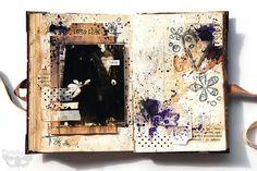 Odyssey family book - page 3 - Breathe me by finnabair, via Flickr