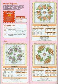 esquemas de punto de cruz punto cruz (3) | Aprender manualidades ...