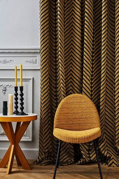 Larsen introduces their 2019 collection, No Norton. This group of designs celebrates the textural beauty of nature and handcrafted surfaces, with a focus on innovative yarns and finishes. A blend… Casamance, Home Theater Seating, Contract Furniture, Curtain Designs, Curtains With Blinds, Window Coverings, Living Room Decor, Upholstery, Interior Design