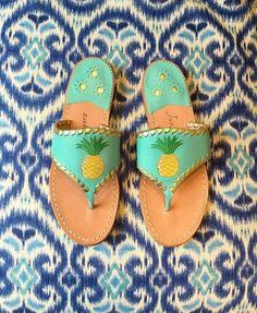 44119f4dbdfa Less rain boots more  jackrogersusa pineapple sandals.