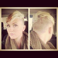 ... elke vrouw geschikt zijn more fierce hairstyles hair cut cut and color  Undercut Dameskapsels