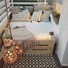 Schaffen Sie eine Bohemian-Atmosphäre auf Ihrem Balkon und erleben Sie das echte Gartengefühl! 15 wunderschöne Inspirationsideen! - DIY Bastelideen