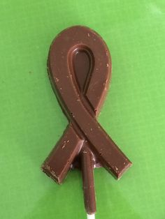 Chocolate breast cancer ribbon